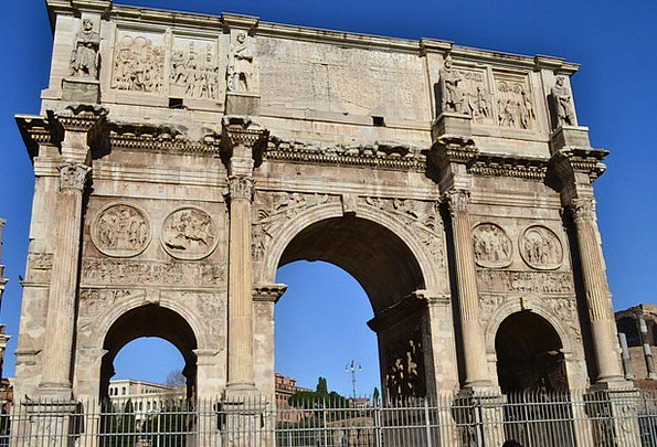 Ark Italy Rome Arc Curve Antique Old