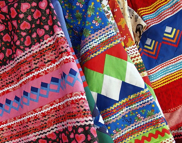 Fabric, Cloth, Lines, Appearances, Arabesque, Colorful