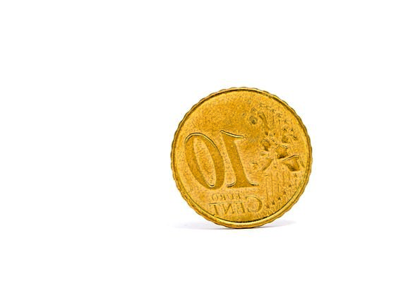 Money Finance Business Euro Cash One Unique Coin T