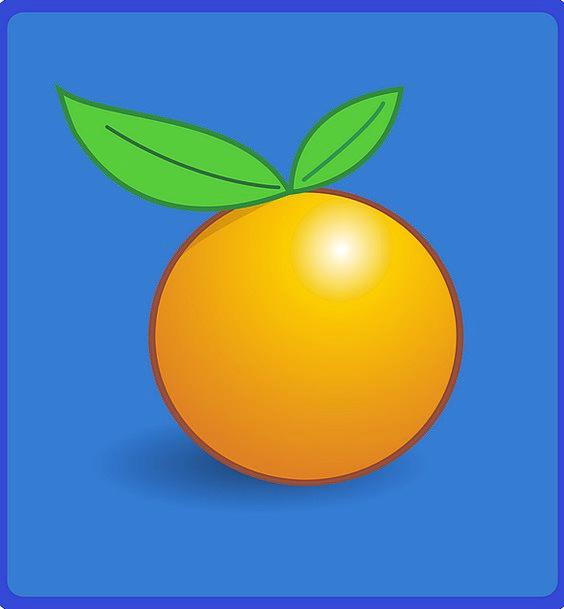 Orange Carroty Drink Ovary Food Food Nourishment F