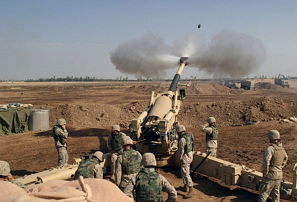 Howitzer Grout Grenade Mortar Fire Weapon Armament