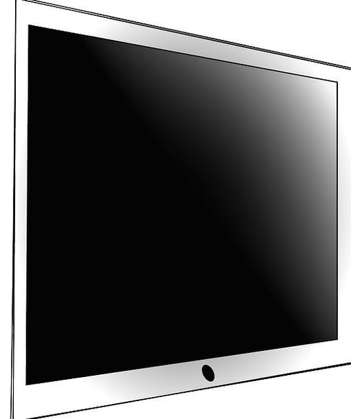 Lcd Shade Flat Level Screen Free Vector Graphics T