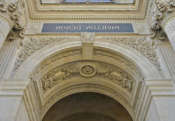 Paris Monuments Places Louvre Palace France Destin