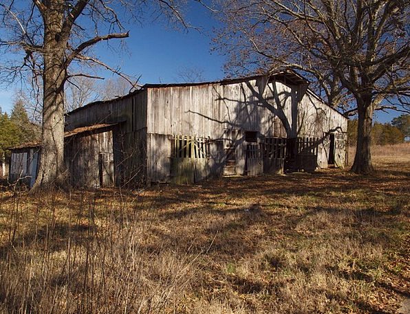 Barn Outbuilding Timber Old Ancient Wood Farm Farm