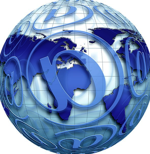 E Mail Sphere Ball Globe Electronics Earth Soil Ne