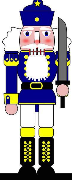 Nutcracker Ornamental Toy Doll Decorative Traditio