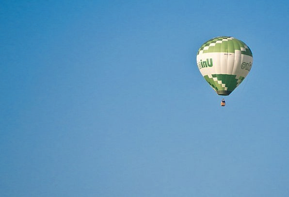Balloon Inflatable Energy Fly Hover Drive Go Ballo