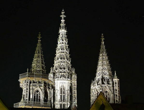 Ulm Cathedral Buildings Architecture Spires Tips N