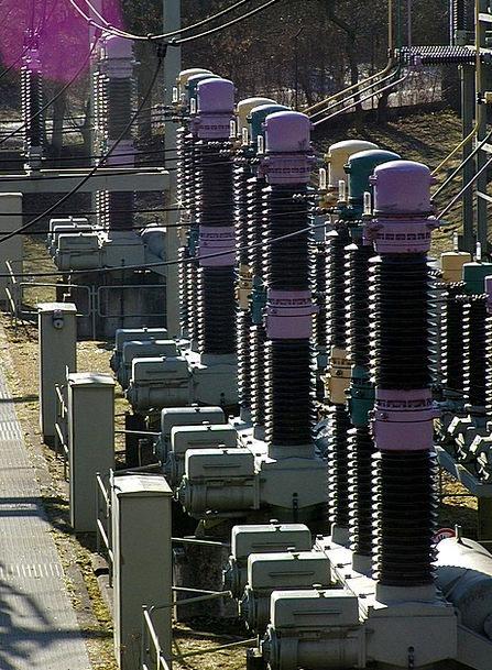 Energy Vigor Present Power Line Current Sromvertei