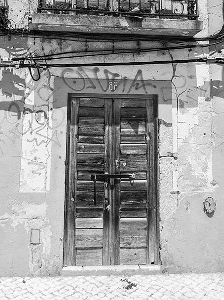 Door Entrance Buildings Corruption Architecture Fa