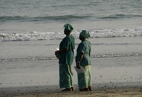 Gambia Vacation Seashore Travel Africa Beach Waves