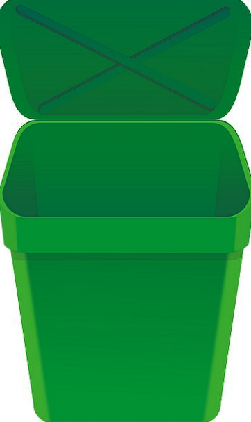 Bin Basket Lid Top Can Environment Open Exposed St