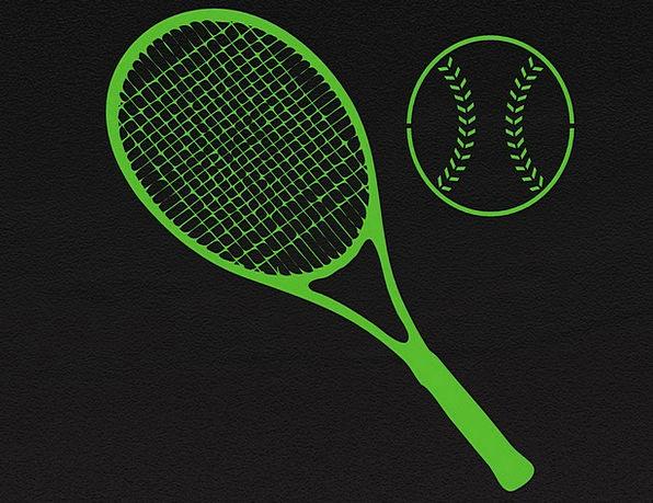 Tennis Tennis Racket Tennis Ball Ball Recreation R