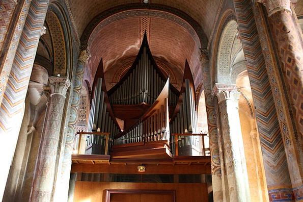 Church Organ Pipes Piping Organ Pipes Ceiling Inst