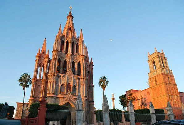 San Miguel De Allende Church Ecclesiastical Mexico