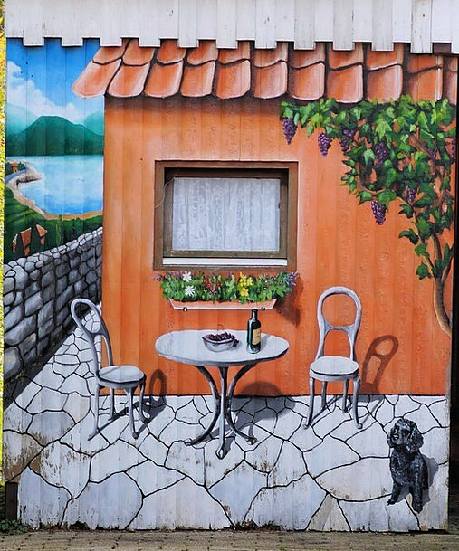 Home Home-based Buildings Architecture Painted Tin