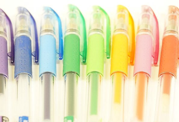 Ballpoint Pen Biro Coop Colorful Interesting Pen P