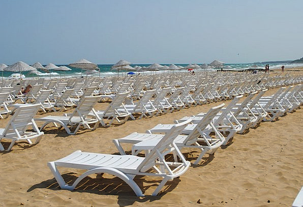 Sunny Sunlit Vacation Seashore Travel Seaside Coas