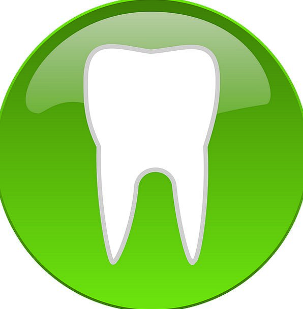 Button Key Teeth Fangs Logo Dental Tooth Dentist Sign Projection Symbol Pixcove