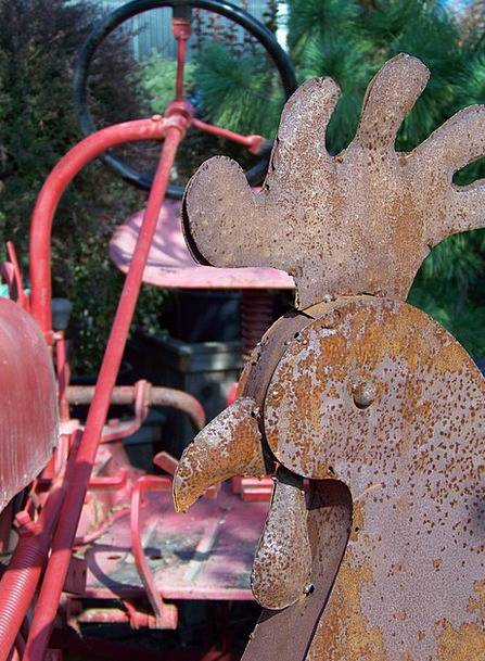 Rust Corrosion Metallic Iron Firm Metal Old Ancien