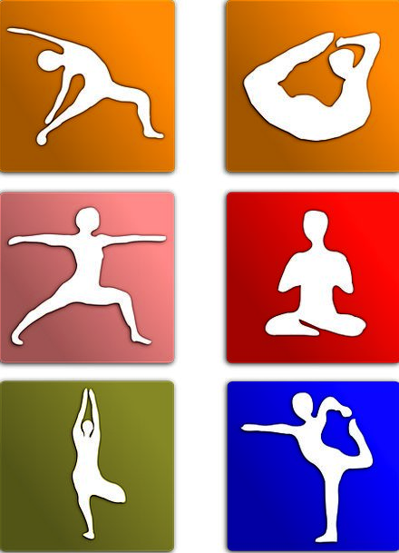 Exercise Workout Poses Postures Yoga Body Position