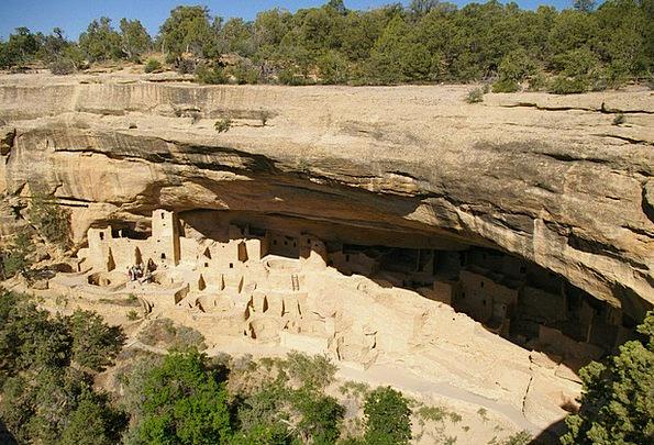 Cliff Palace Cliff Dwellings Mesa Verde Mesa Verde