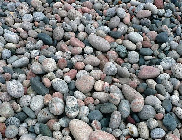 Pebbles Gravels Landscapes Pillars Nature Stones R