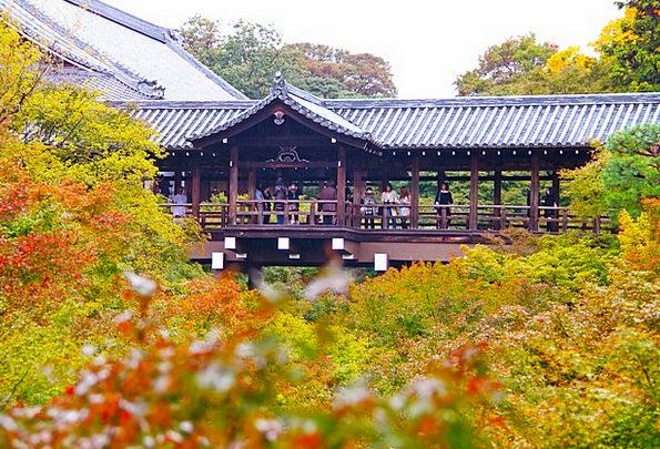 Temple Shrine Memorial Tofukuji Temple Scenery Set