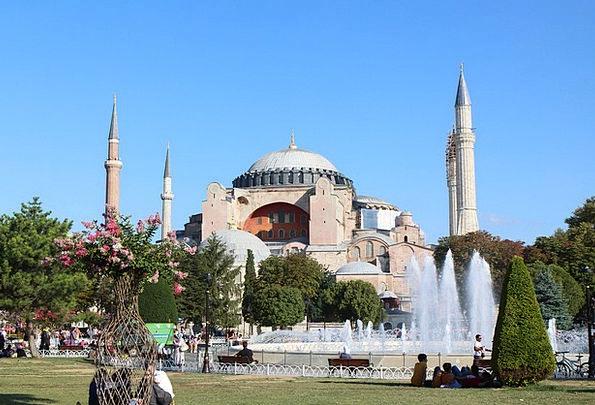 Turkey Buildings Architecture Istanbul Hagia Sofia