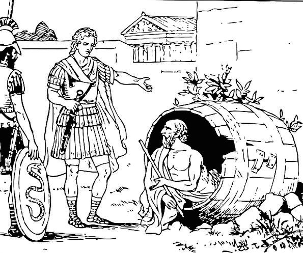 Diogenes Of Sinope Diogenes Diogenes The Cynic Fre