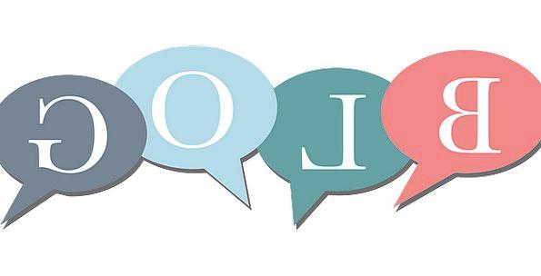 Blog Language Bubbles Foams Speech Free Vector Gra
