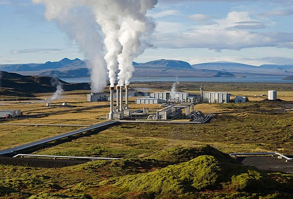 Power Plant Geothermal Energy Geothermal Geo Therm