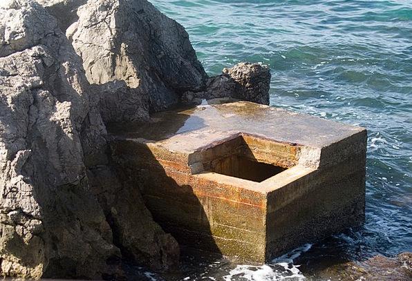 Bunker Shelter Marine Water Aquatic Sea Coast Shor