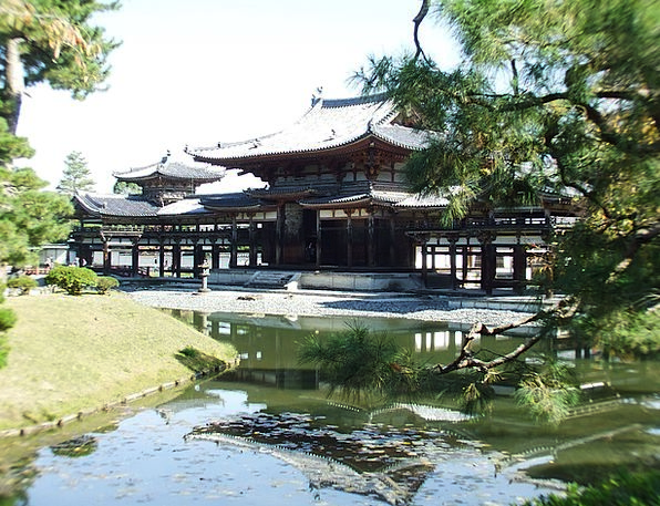 Temple Shrine Antique Kyoto Ancient Japan Historic