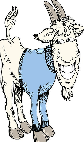 Goat Sartorial Sweater Jersey Clothing Horns Siren