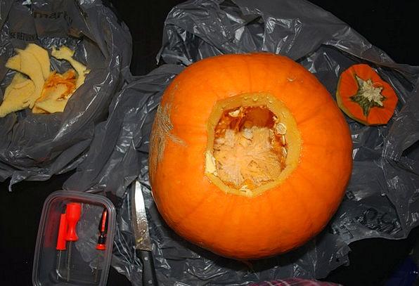 Pumpkin Model Halloween Carving October