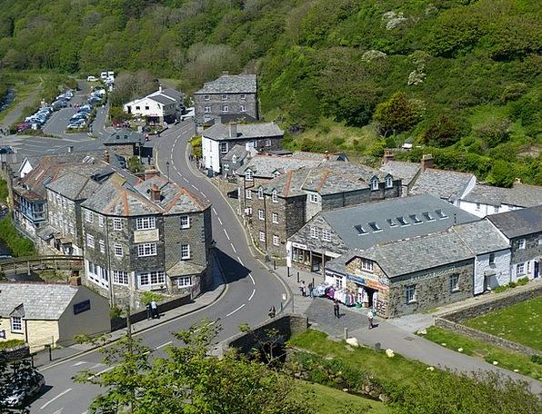 Cornwall Village Community Boscastle England Bach