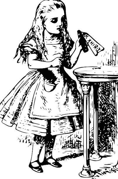 Girl Lassie Youngster Alice In Wonderland Child Mi