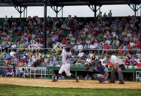 Baseball Crowd Troop Alabama Fans Admirers Sports