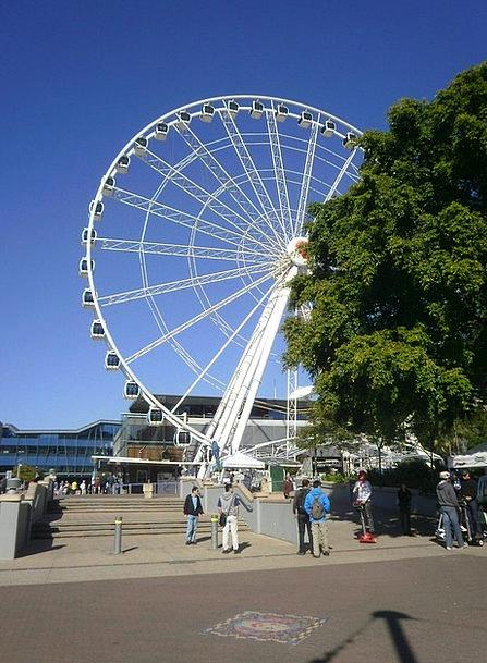 Brisbane Queensland Ferris Wheel Southbank Attract