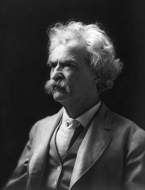 Mark Twain Writer Author Philosopher Theorist Crit