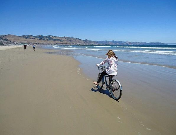 Pismo Vacation Seashore Travel Bicycle Bike Beach