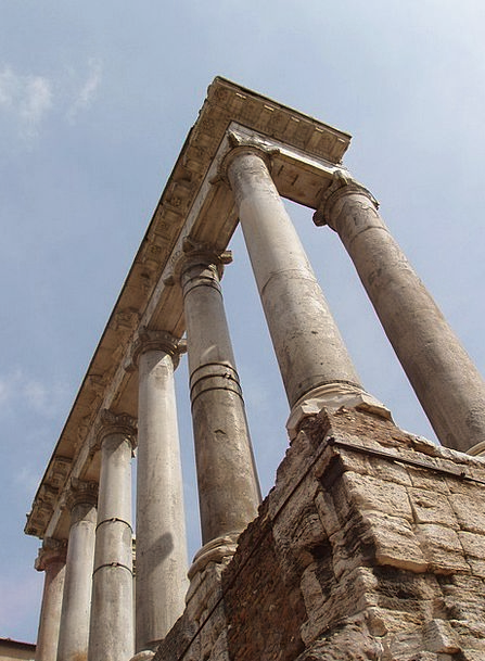 Rome Pillars Italy Columns Ancient Antique Greek H