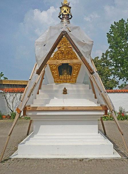 Stupa Statues Figurines Buddhism Figures Statistic