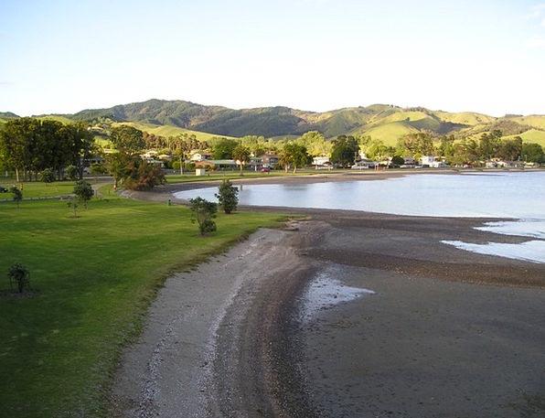 New Zealand Vacation Seashore Travel Ebb Receding