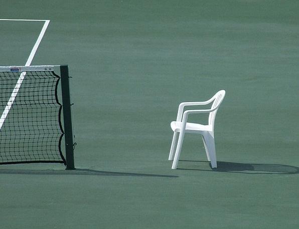Tennis Diversion Grass Lawn Sport Action Act Net C