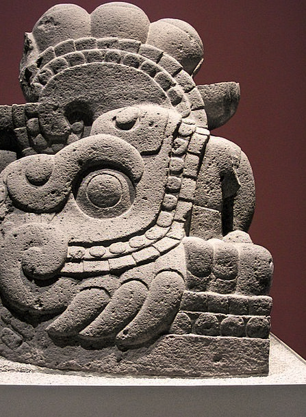 Aztec Monuments Places Monolith Megalith Old Histo