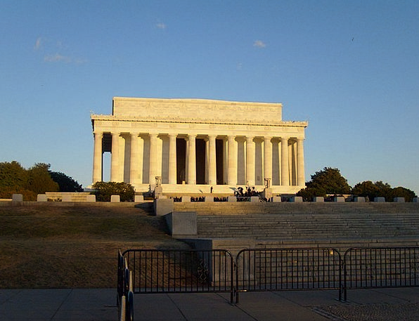 Lincoln Memorial Buildings Architecture Famous Wel