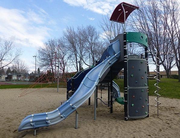 Slide Transparency Amusing Playground Park Fun Pla