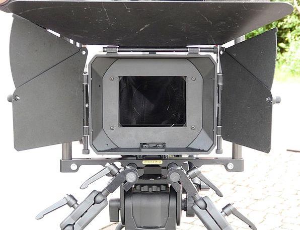 Film Camera Recording Footage Full Format Camera E